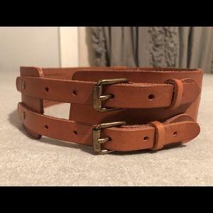 Equestrian style belt